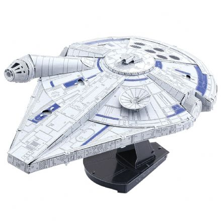 Star Wars Solo Metal Earth IconX Lando's Millennium Falcon Model Kit